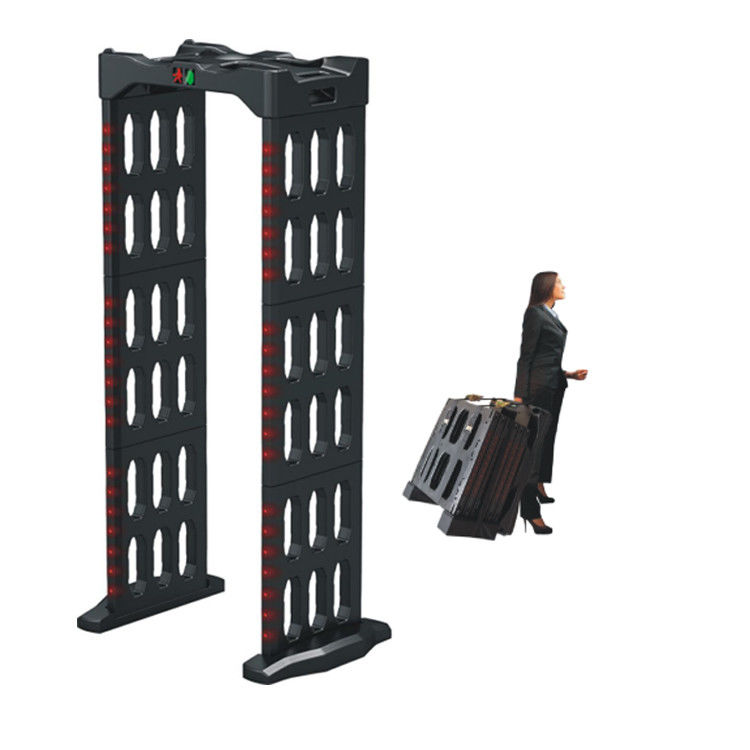 Portable Walk Through Body Metal Detectors Archway Door Frame Machine AC110V~240V